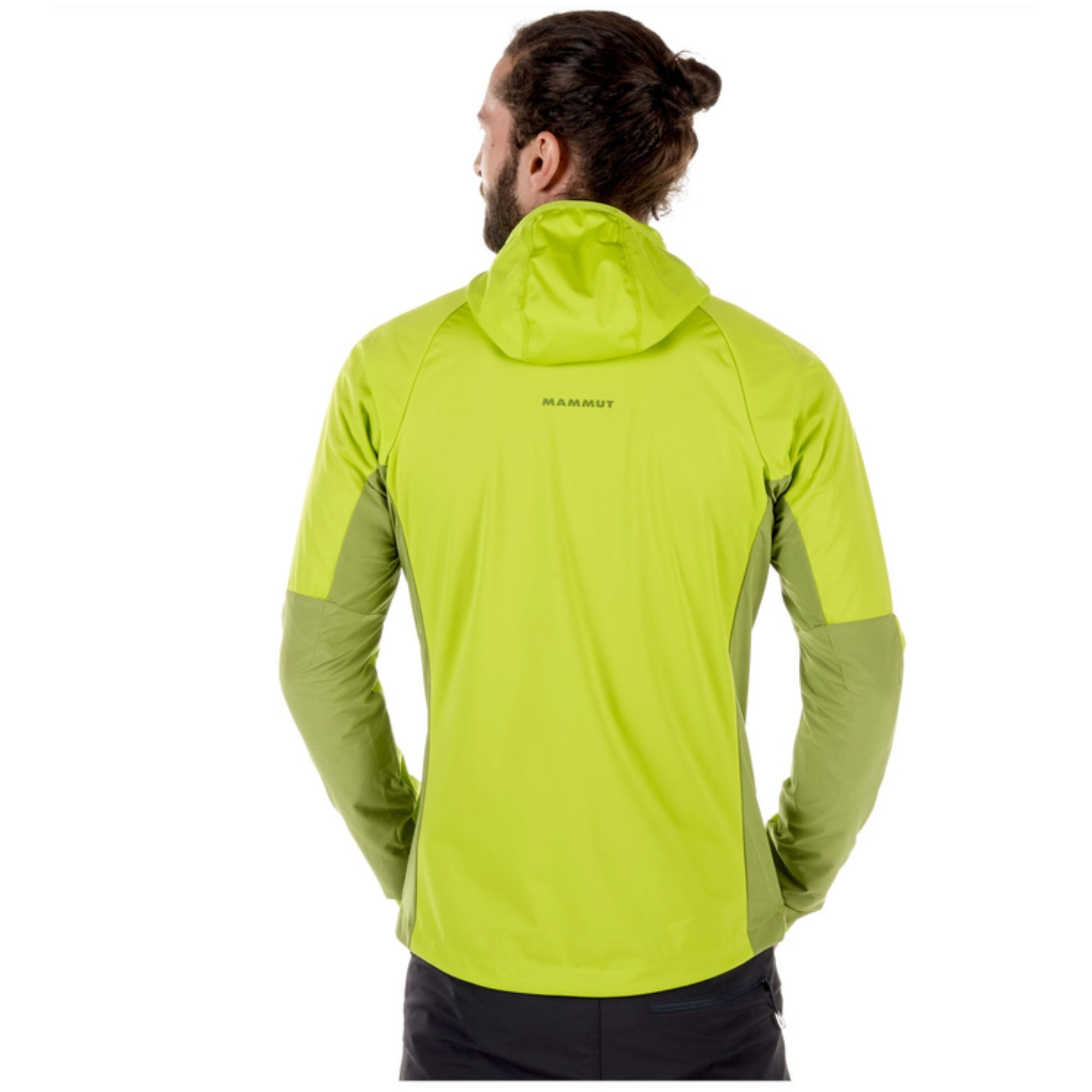 Mammut Kento Light SO Hooded Jacket - Sprout