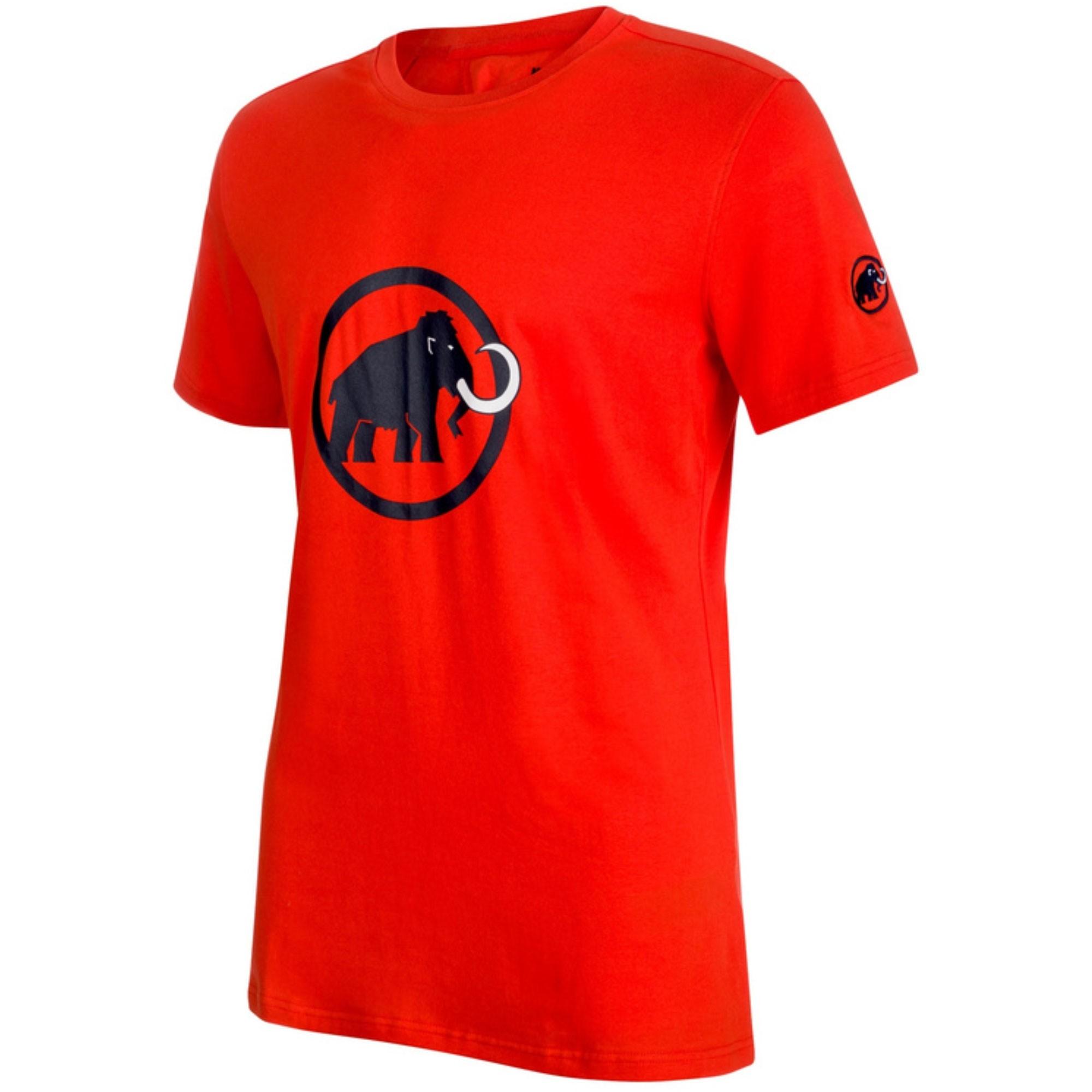 Mammut Logo T-Shirt - Dark Orange/Marine