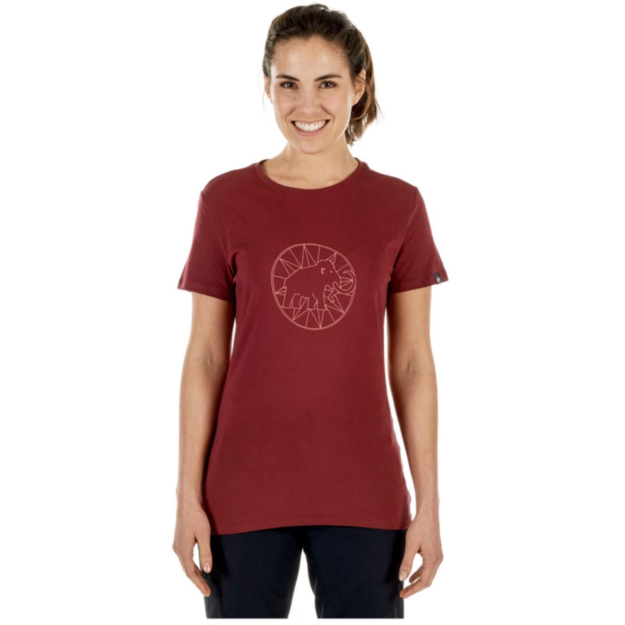 Mammut Women's Logo T-shirt - Merlot/Rose