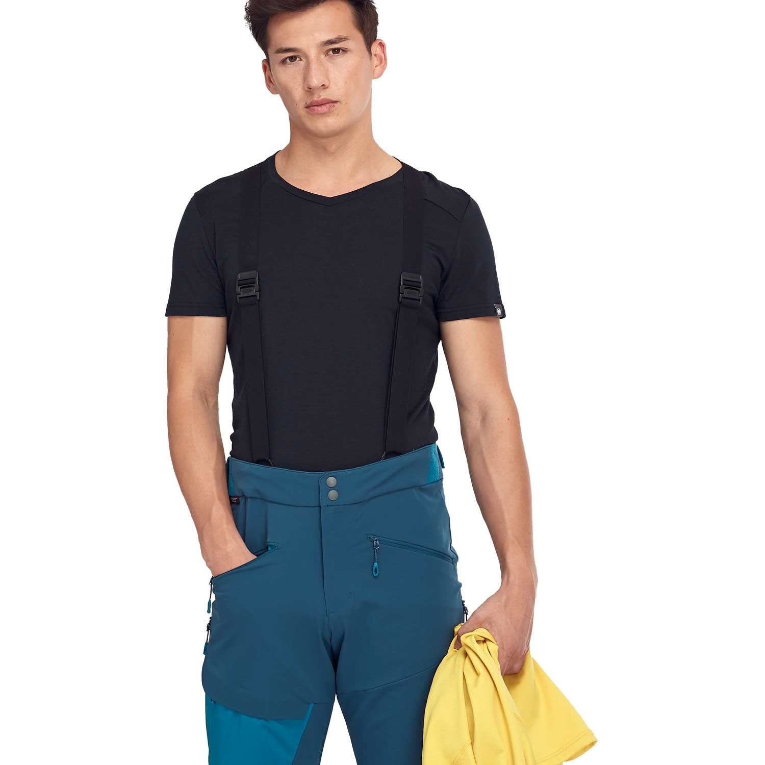 Mammut Base Jump Softshell Touring Pants - Men's - Wing Teal/Sapphire