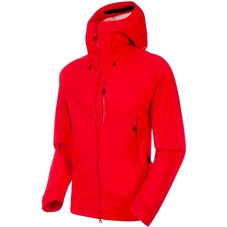 Mammut Kento HS Hooded Waterproof Jacket - Ruby