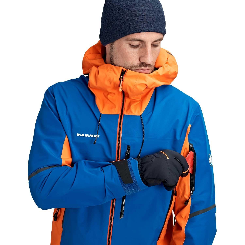Mammut Eiger Extreme Nordwand Pro HS Hooded Jacket - Men's - Arumita/Azurite