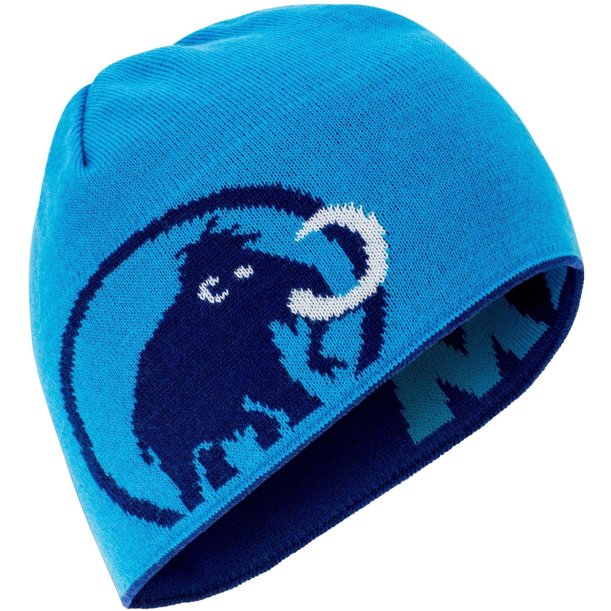 Mammut Logo Beanie - Ultramarine/Imperial