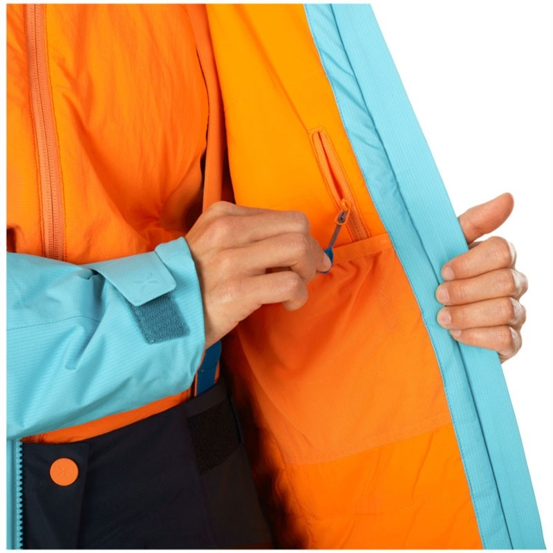 Eiger Extreme Nordwand HS Thermo Womens Hooded Jacket detail