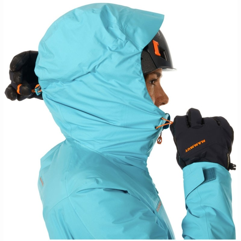 Eiger Extreme Nordwand HS Thermo Womens Hooded Jacket Hood