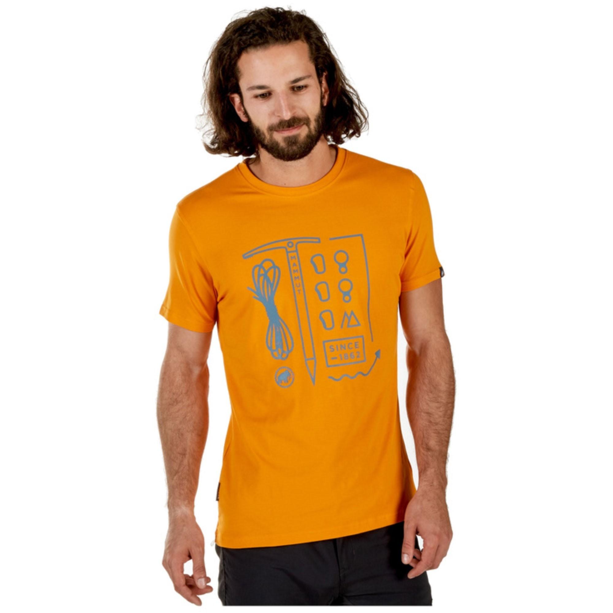 Mammut Sloper T-Shirt - Dark Radiant
