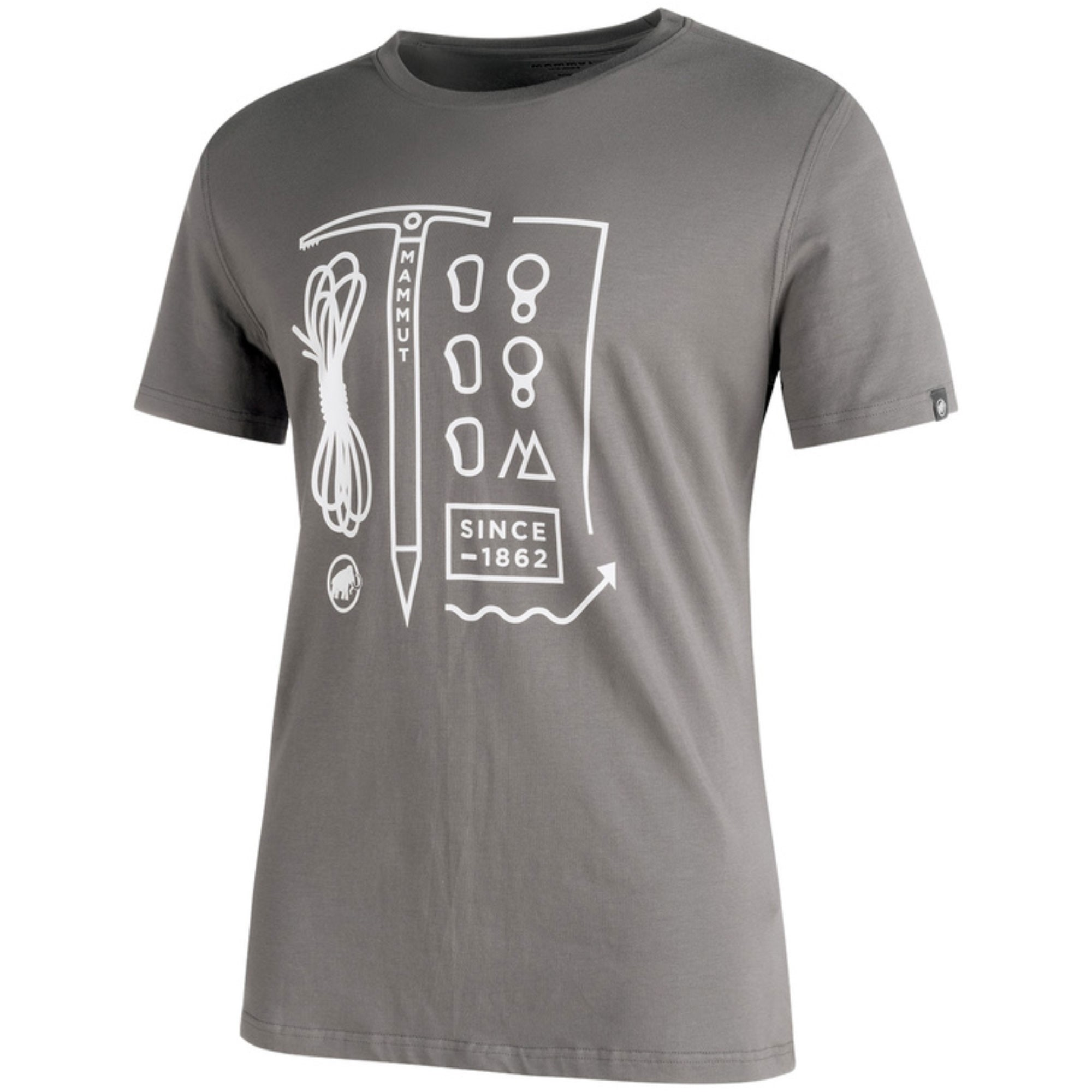 Mammut Sloper T-Shirt - Titanium