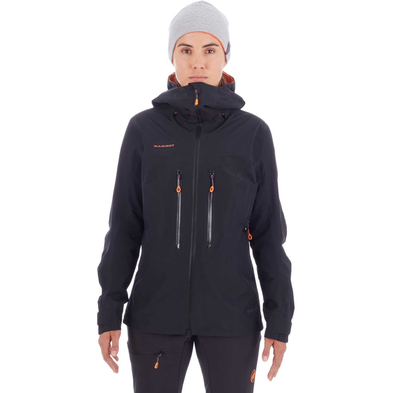 Mammut Nordwand Advanced HS Hooded Jacket - Womens - Black