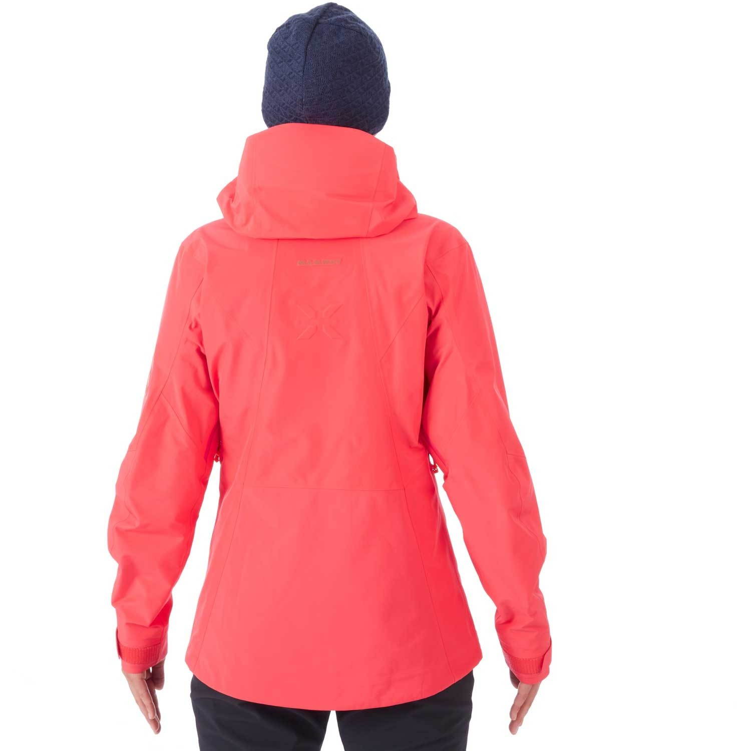 Mammut Nordwand Advanced HS Hooded Jacket - Womens - Sunset