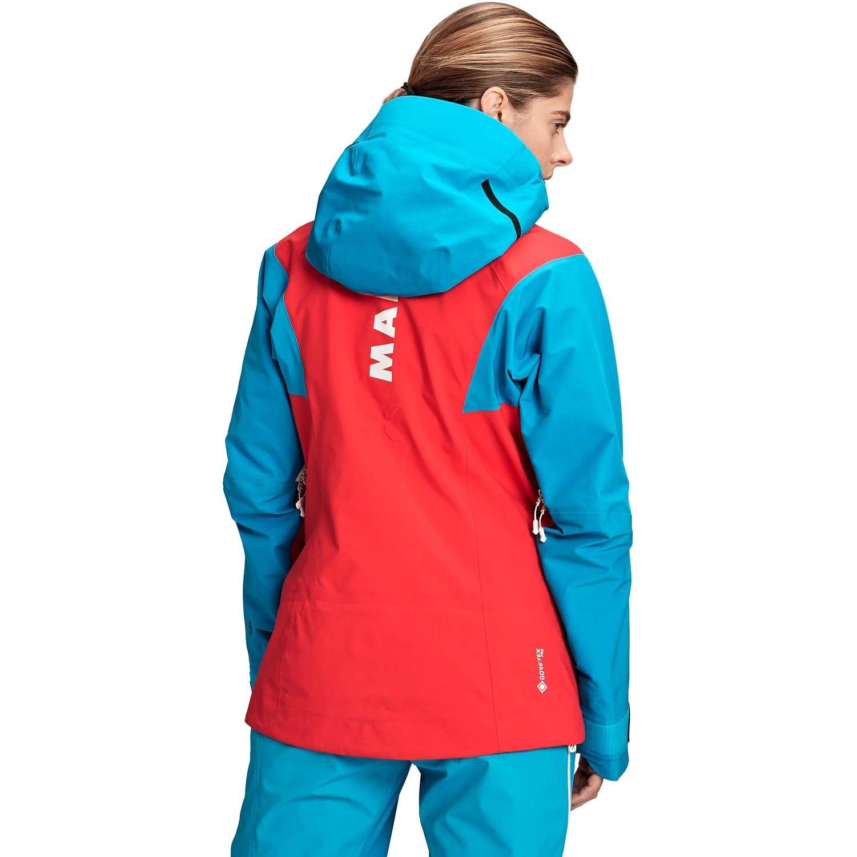 Mammut Eiger Extreme Nordwand Pro HS Hooded Jacket - Women's - Azalea/Sky