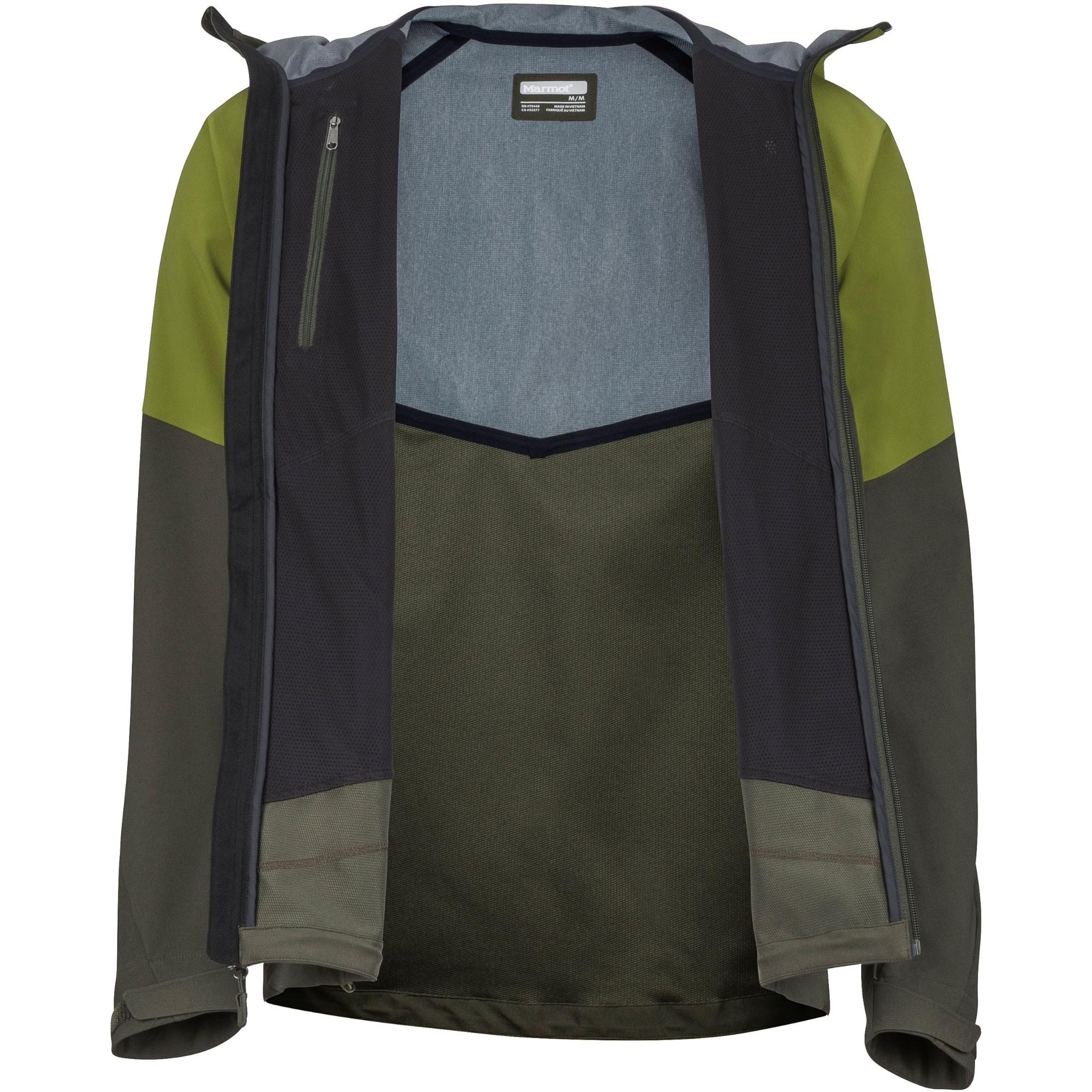 Marmot ROM Men's Softshell Jacket - Calla Green/Rosin Green