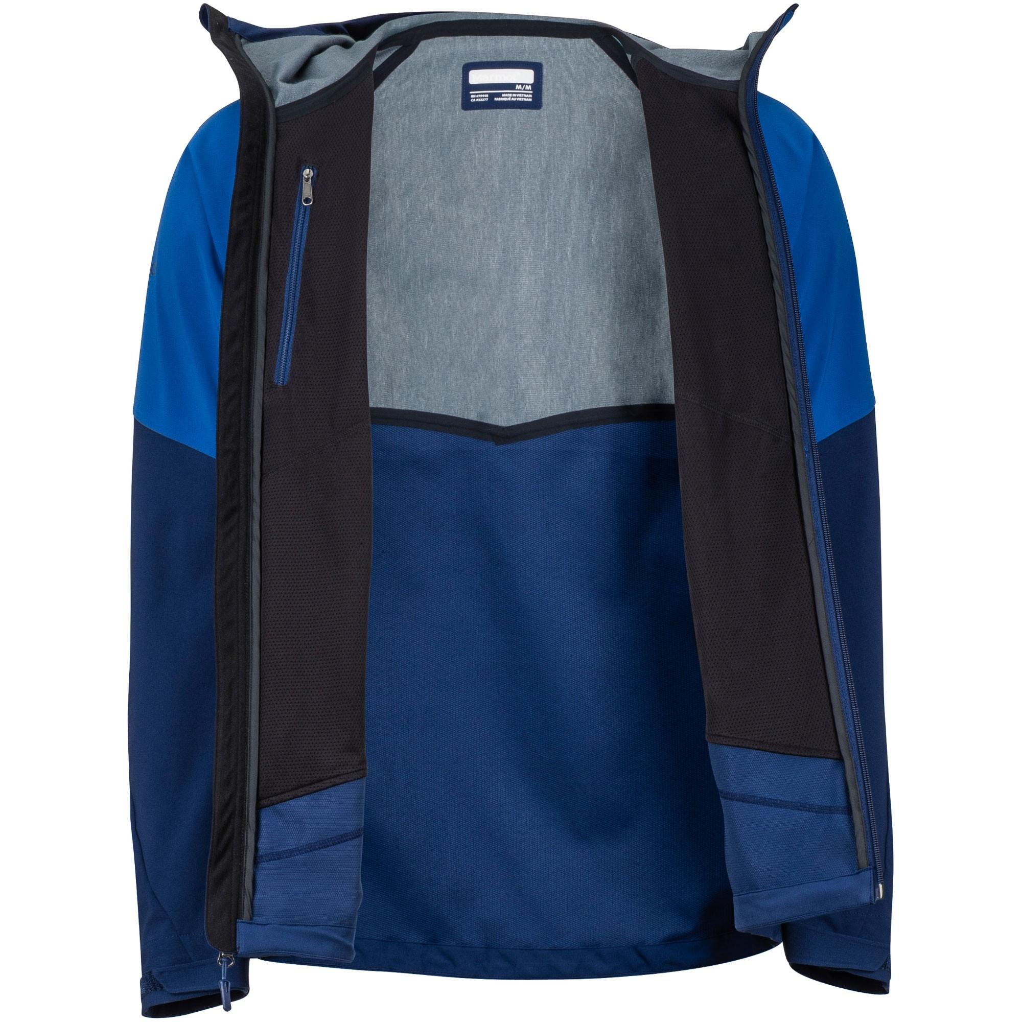 Marmot ROM Men's Softshell Jacket - Dark Cerulean/Arctic Navy