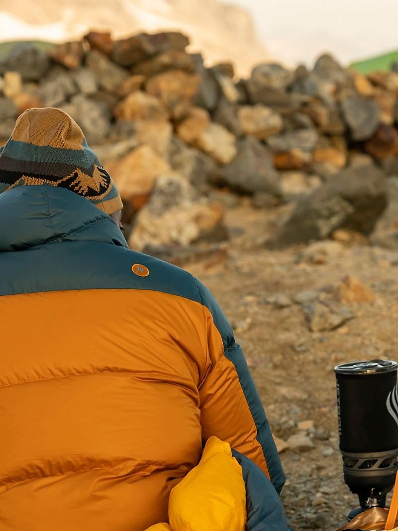 Marmot Guides Down Hoody - Men's - Bronze/Stargazer