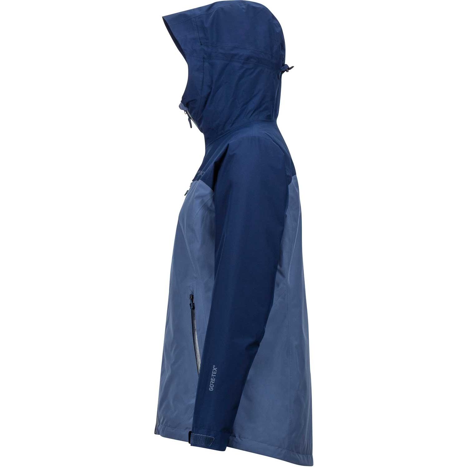 Marmot Solaris Waterproof Jacket - Women's - Storm/Arctic Navy