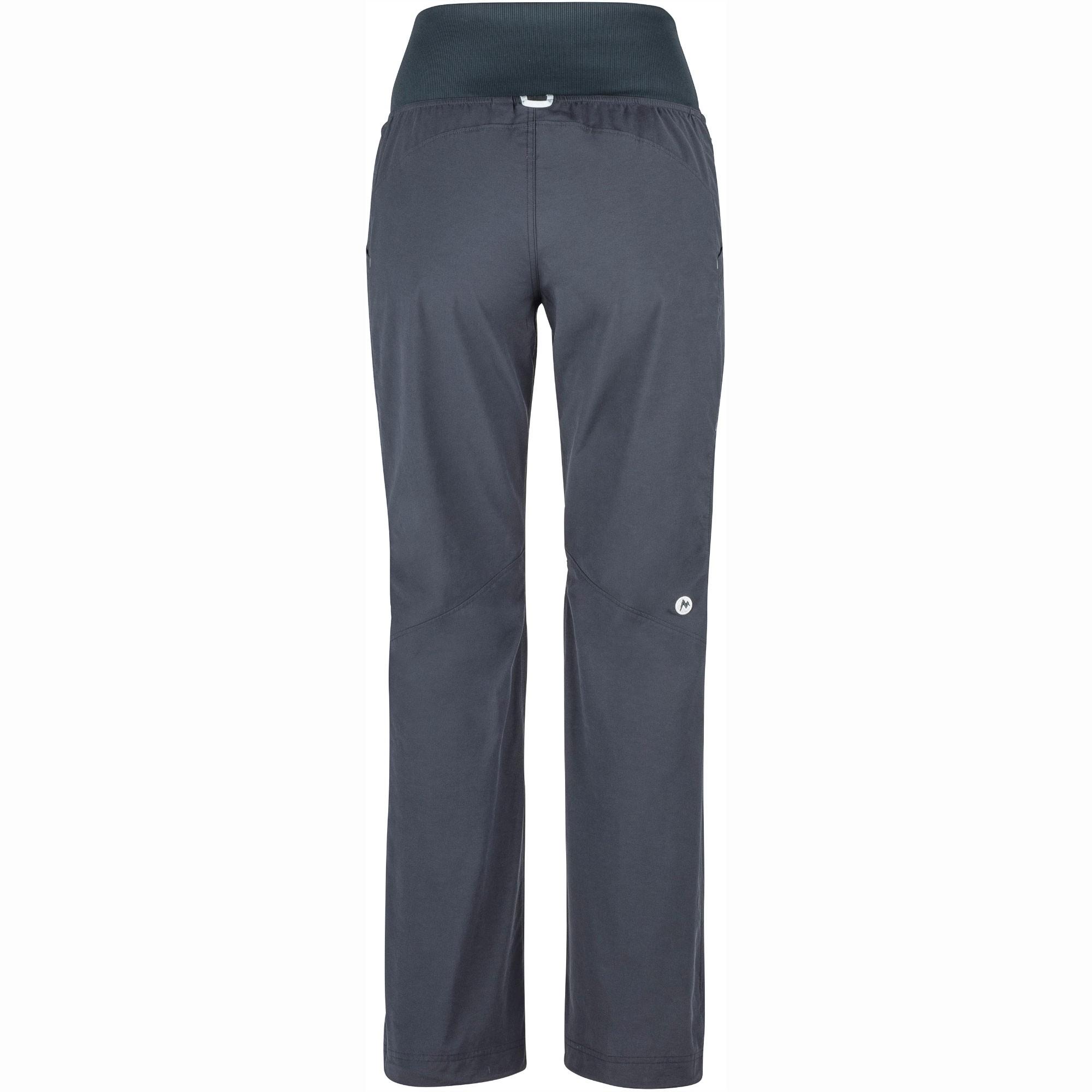 Marmot Lleida Women's Climbing Pants - Dark Steel - Back