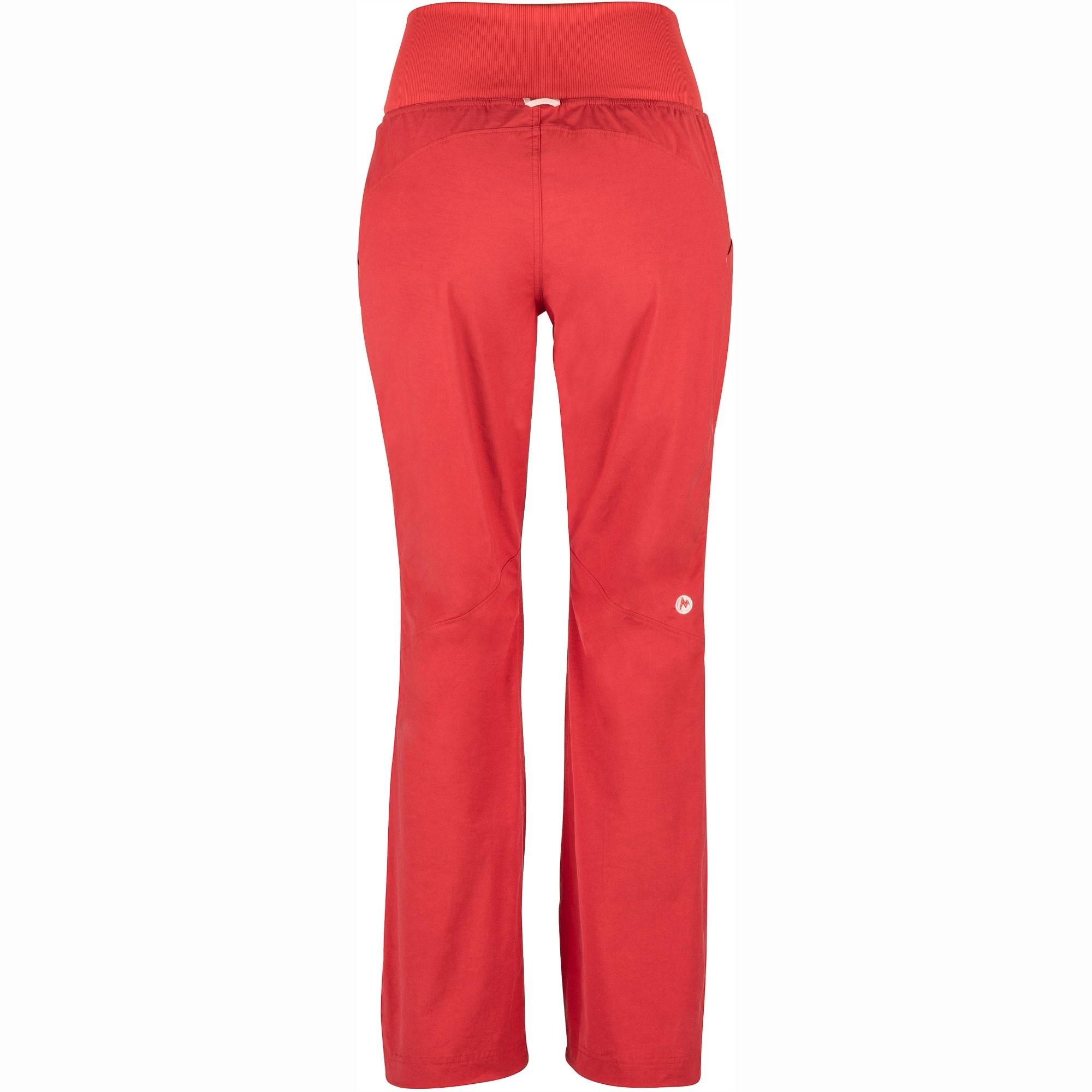 Marmot Lleida Women's Climbing Pants - Desert Red - Back