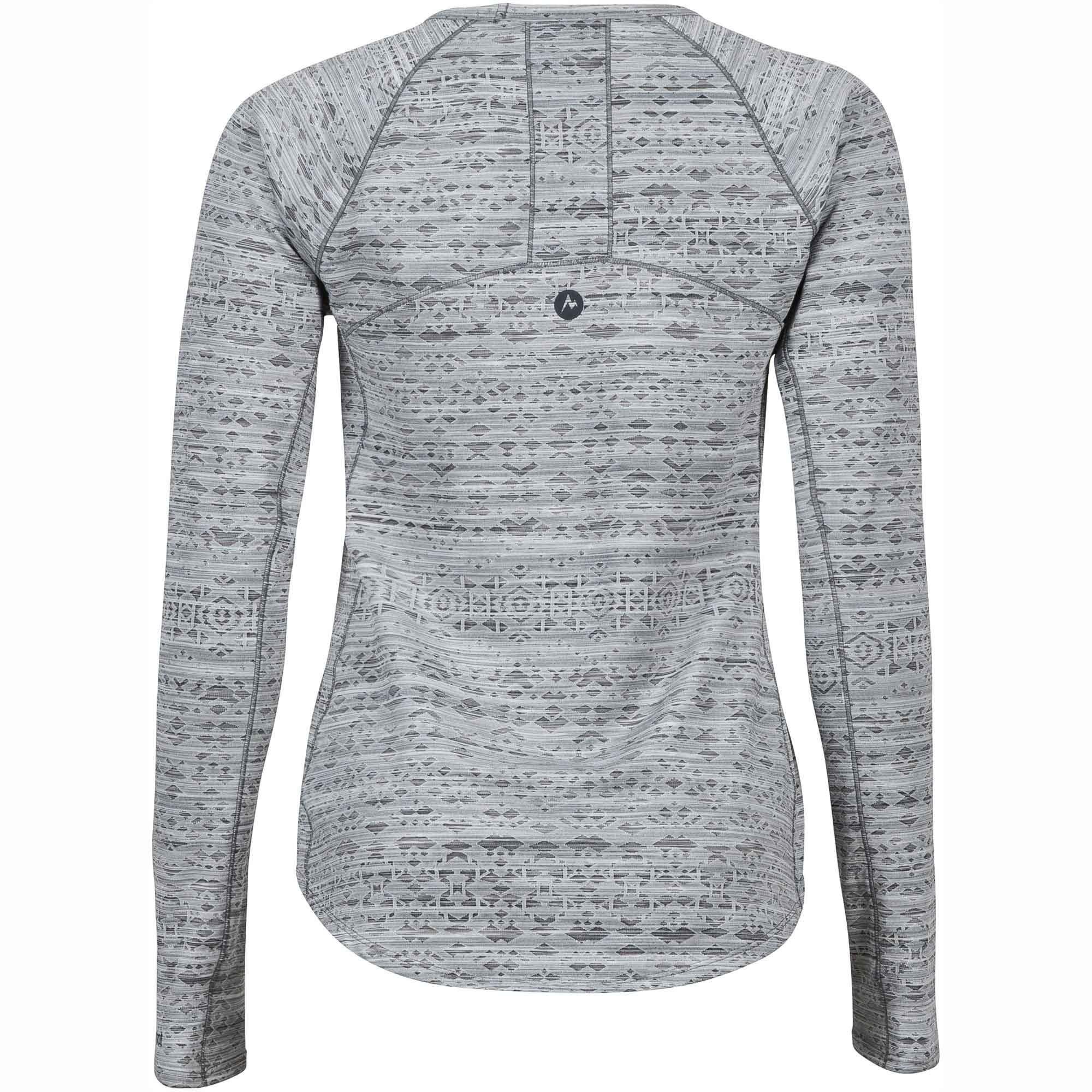 Marmot Sylvie Long Sleeved Top - Dark Steel - Back