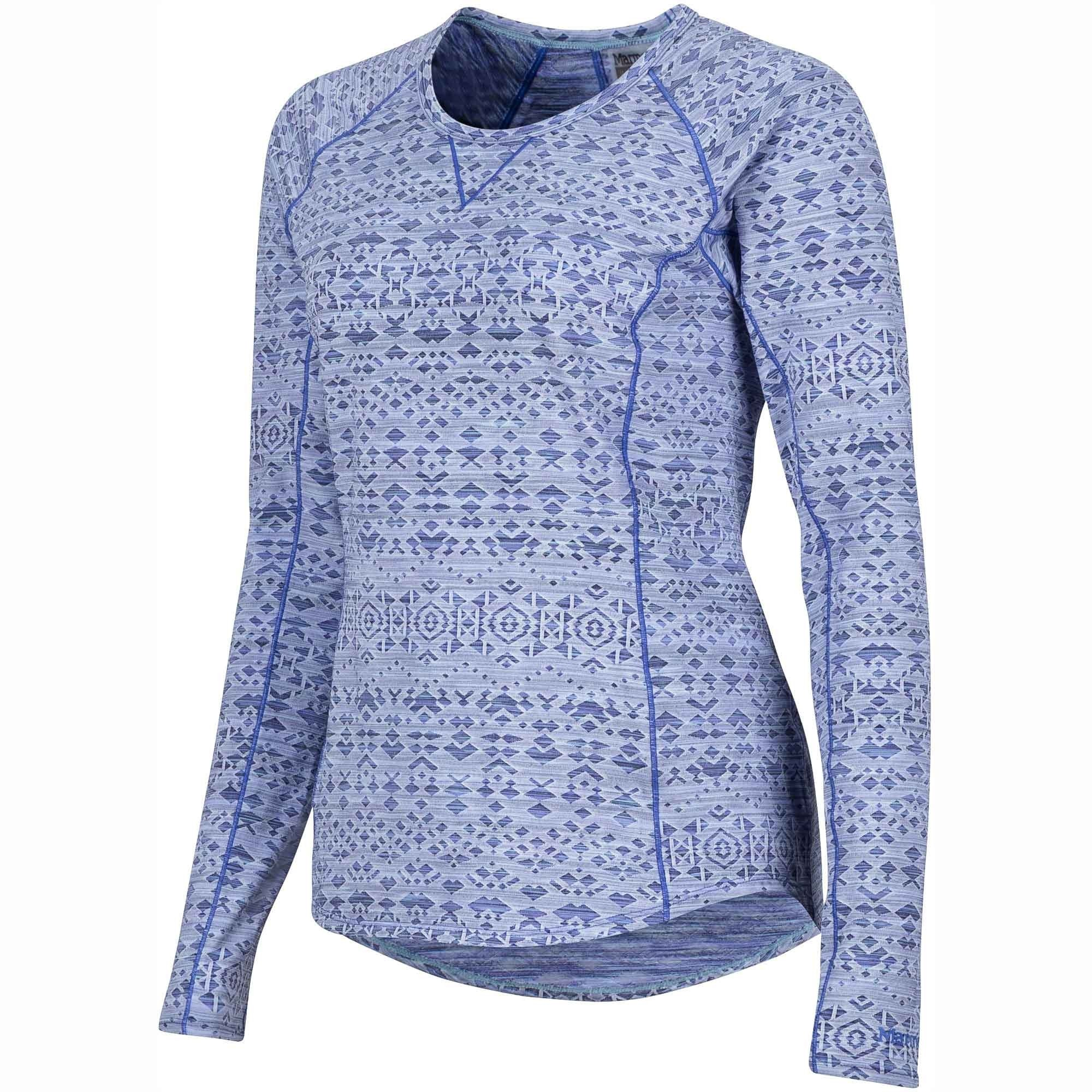 Marmot Sylvie Long Sleeved Top - Lilac - Side