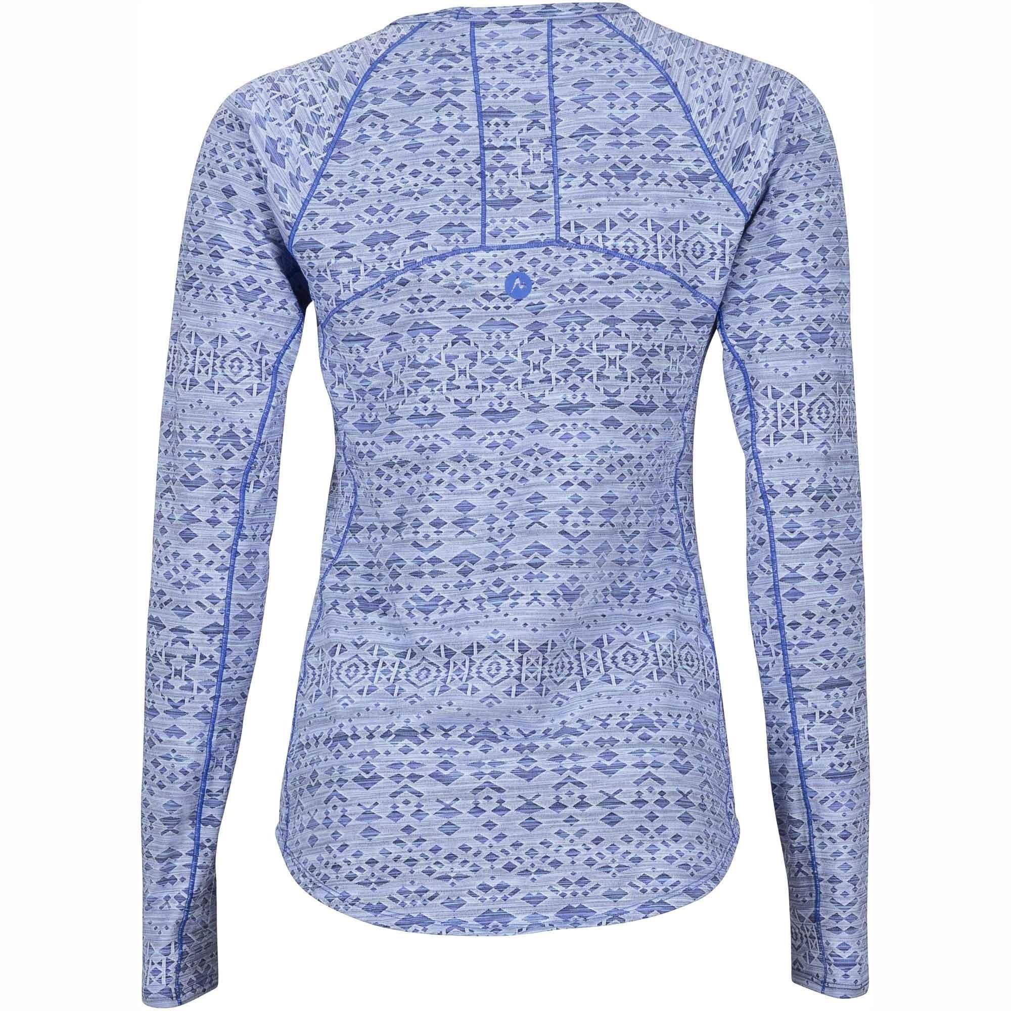 Marmot Sylvie Long Sleeved Top - Lilac - Back