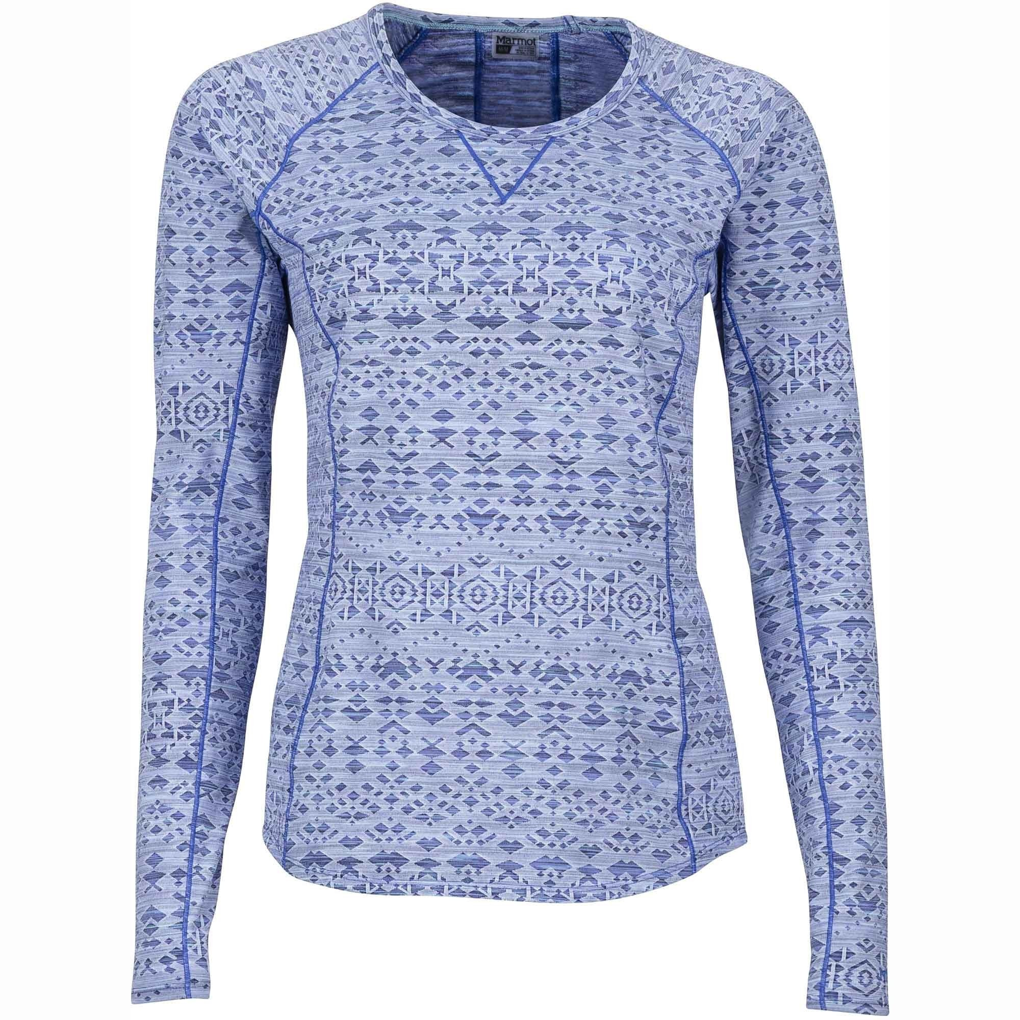 Marmot Sylvie Long Sleeved Top - Lilac - Front
