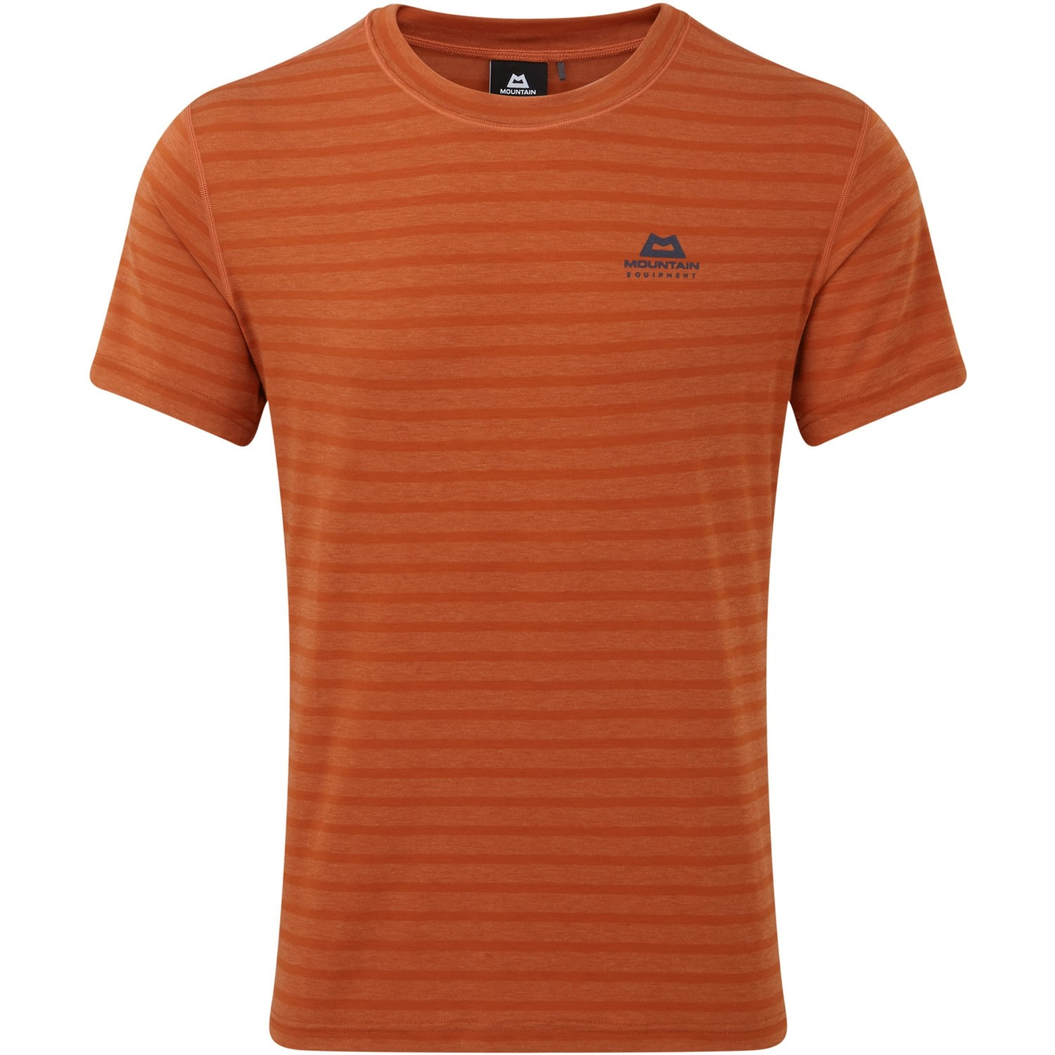Mountain Equipment Ground Up Tee - Bracken Stripe