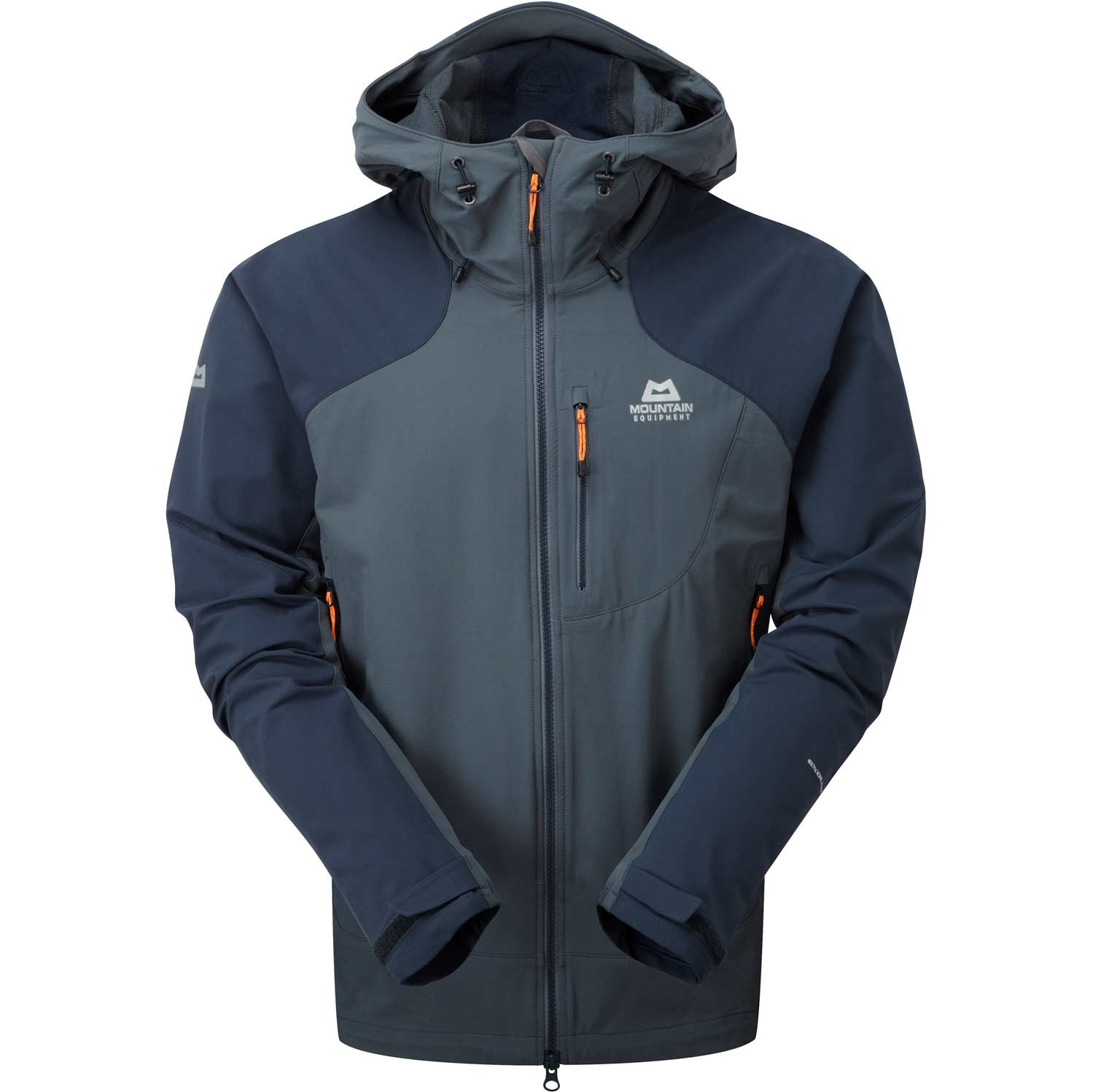 Mountain Equipment Frontier Men's Hooded Softshell Jacket - Ombre/Cosmos