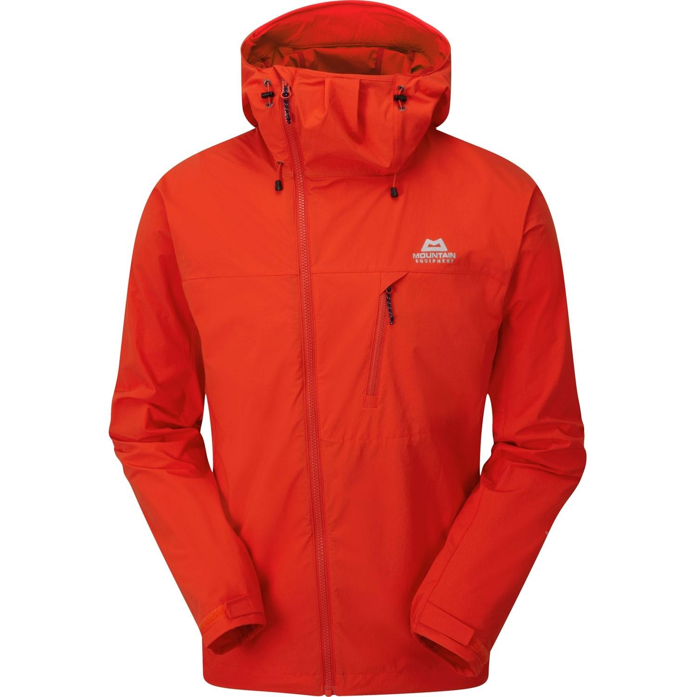 Mountain Equipment Squall Hooded Jacket - Cardinal Orange