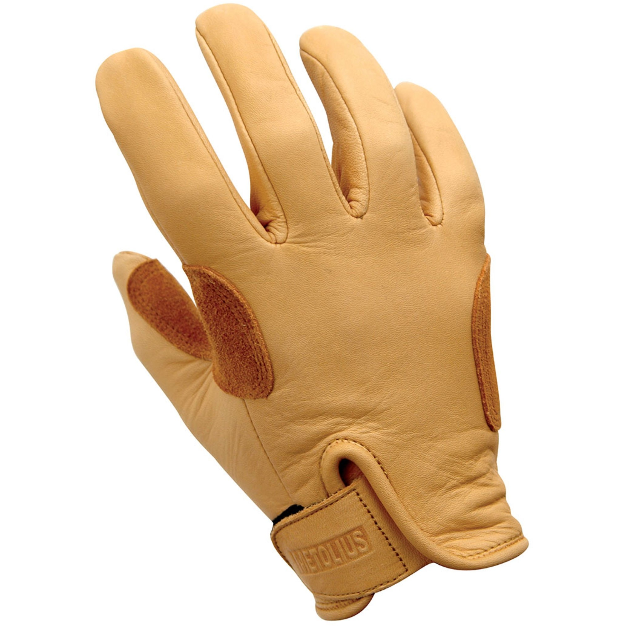Metolius Belay Glove - Natural/Brown
