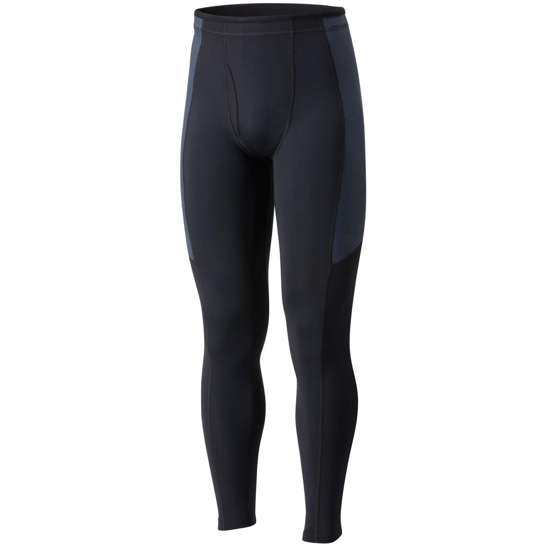 Mountain Hardwear Butterman Tights - Black - front