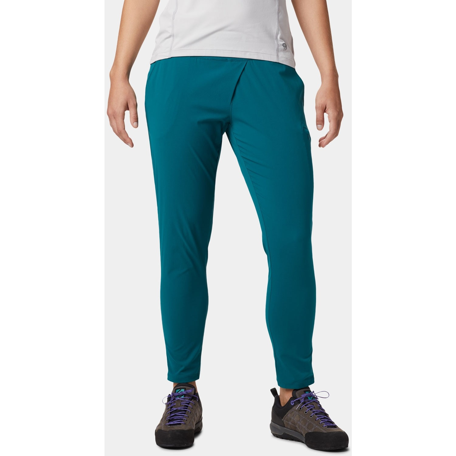 Mountain Hardwear Dynama Pants - Dive - model front