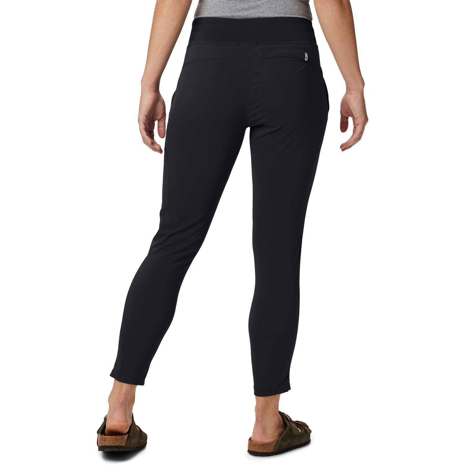 Mountain Hardwear Dynama Ankle Pants - Black - model back