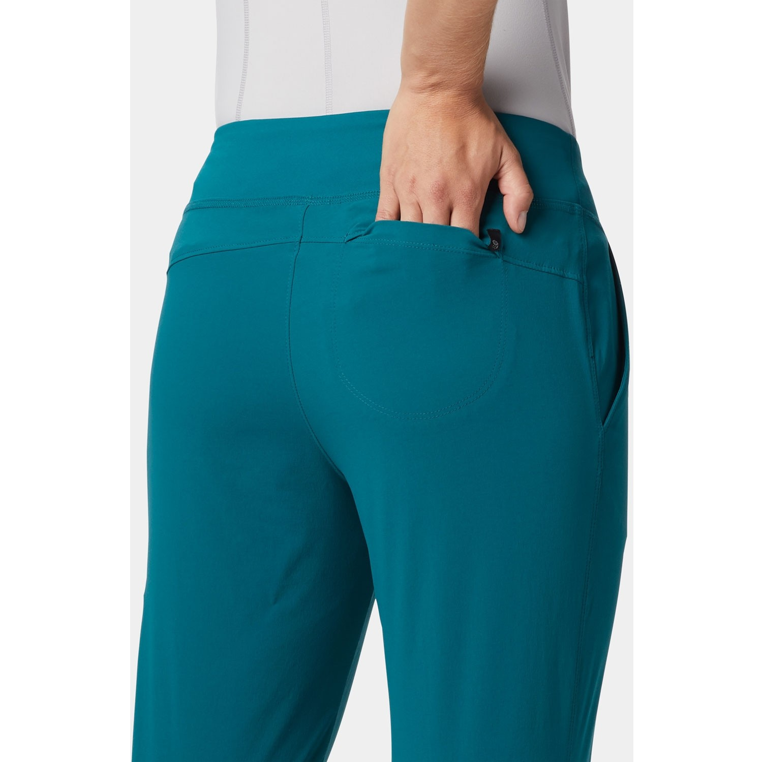 Mountain Hardwear Dynama Pants - Dive - model back pocket
