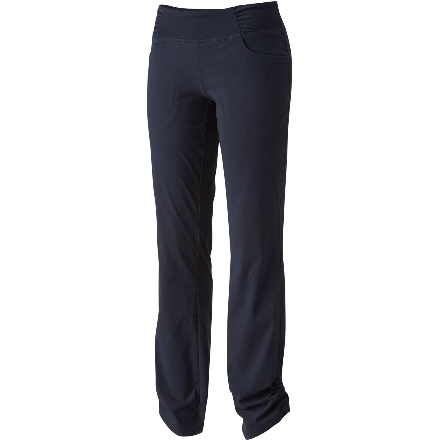 Mountain Hardwear Dynama Pants - Dark Zinc - front cinched ankle