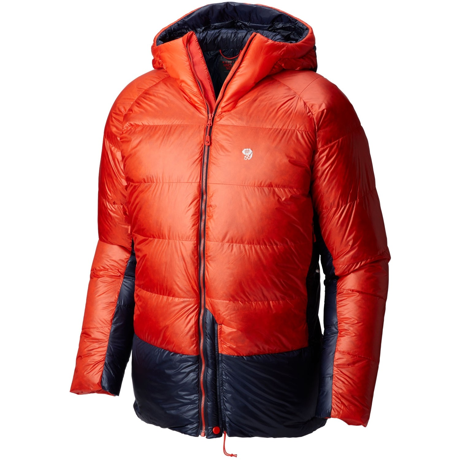 Mountain Hardwear Phantom Hooded Down Jacket - Mens - Fiery Red