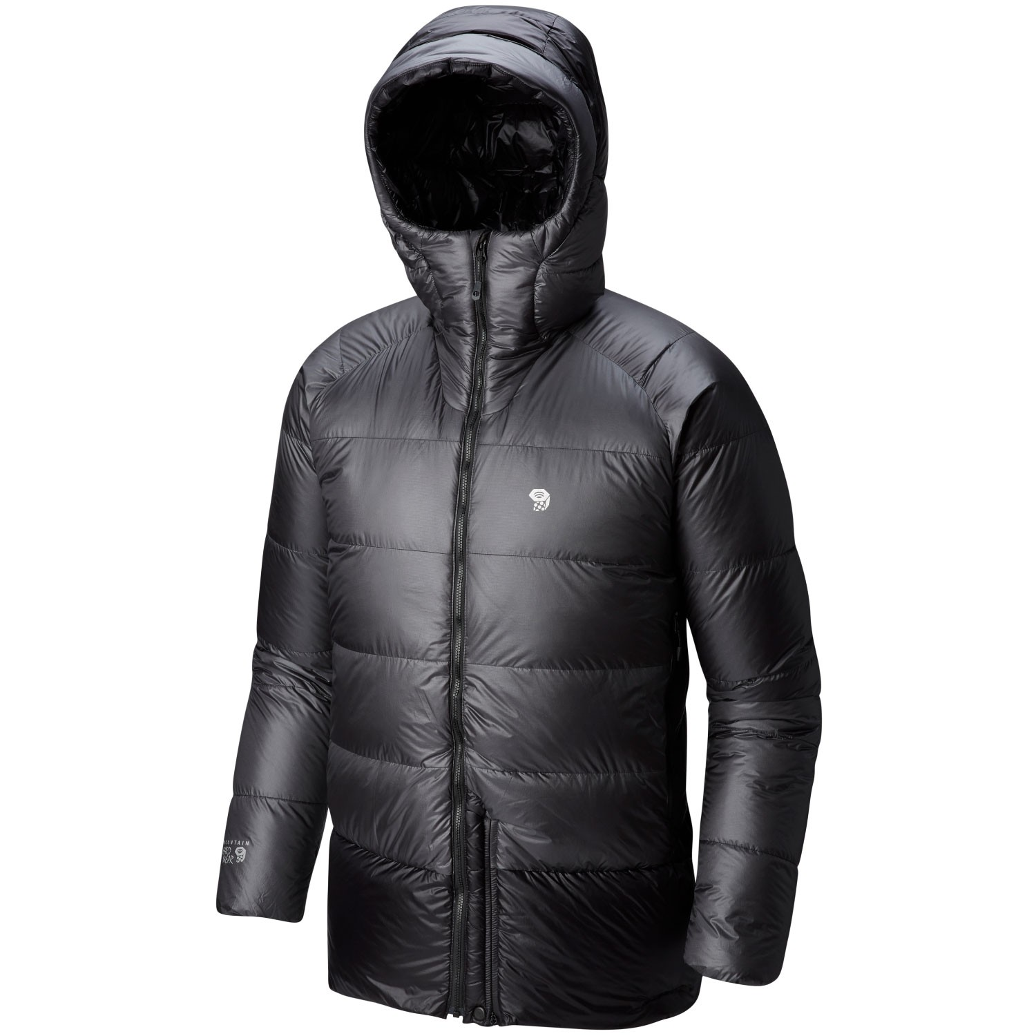 Mountain Hardwear Phantom Hooded Down Jacket - Mens - Shark