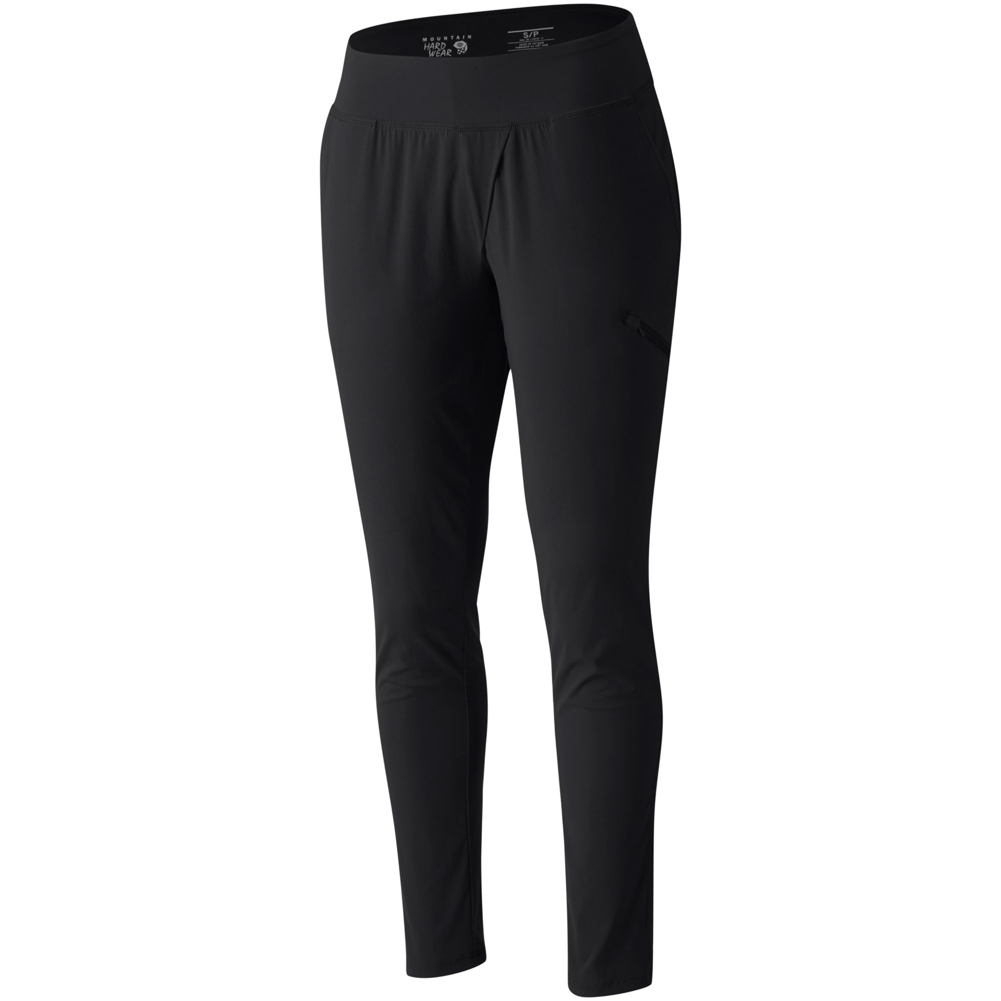 Mountain Hardwear Dynama Ankle Pants - Black - Front