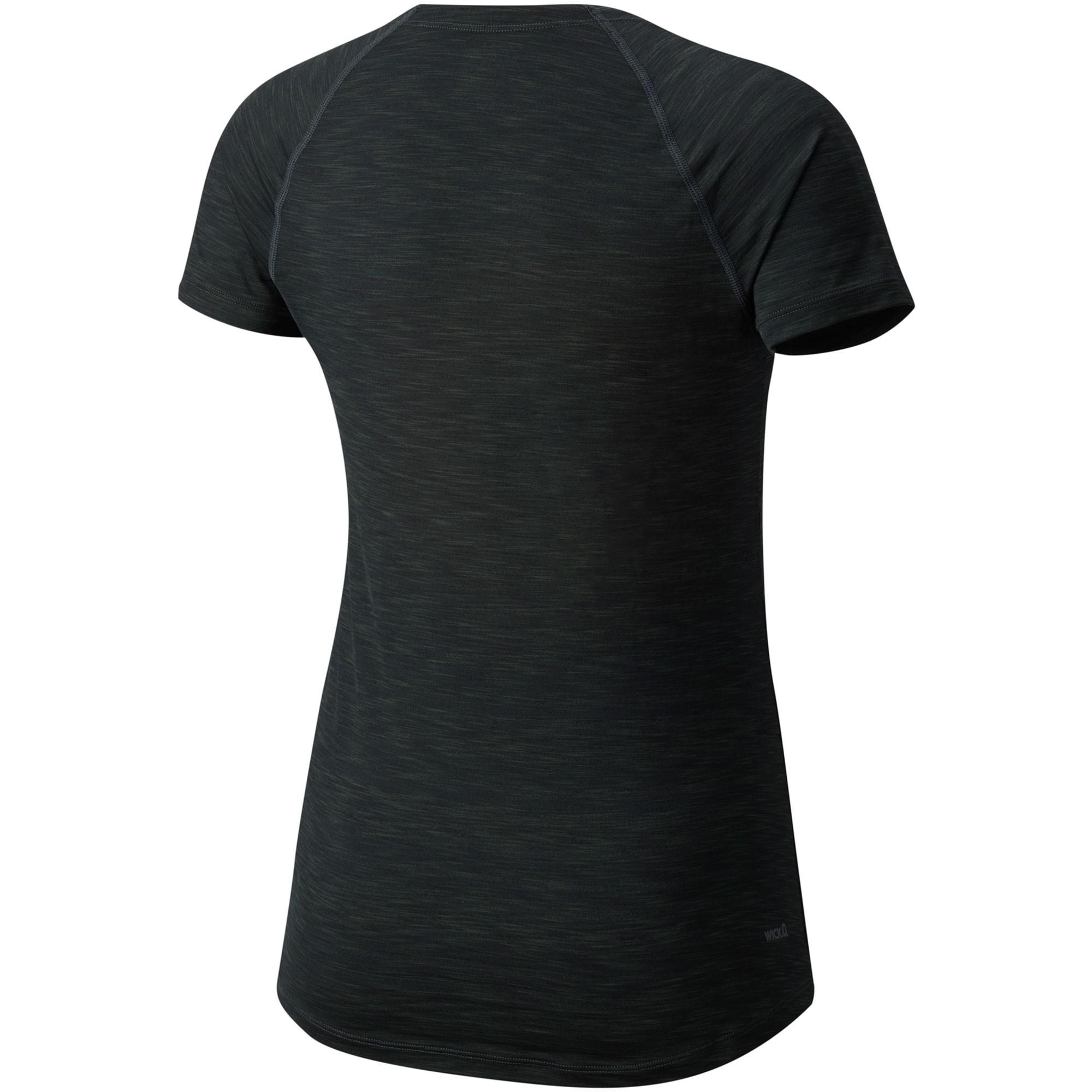 Mountain Hardwear Mighty Stripe Short Sleeve Tee - Stealth Grey