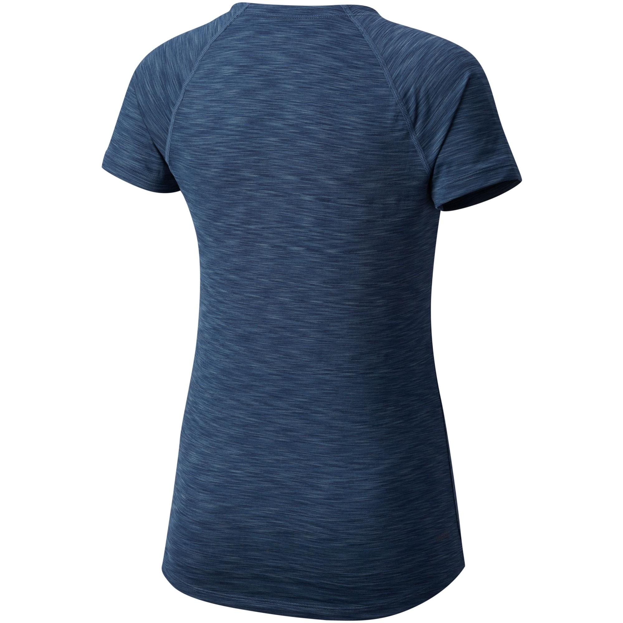 Mountain Hardwear Mighty Stripe Short Sleeve Tee - Zinc