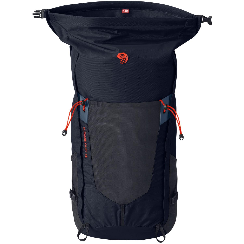 Mountain Hardwear Scrambler RT35 OutDry Rucksack - Dark Zinc - Roll Top