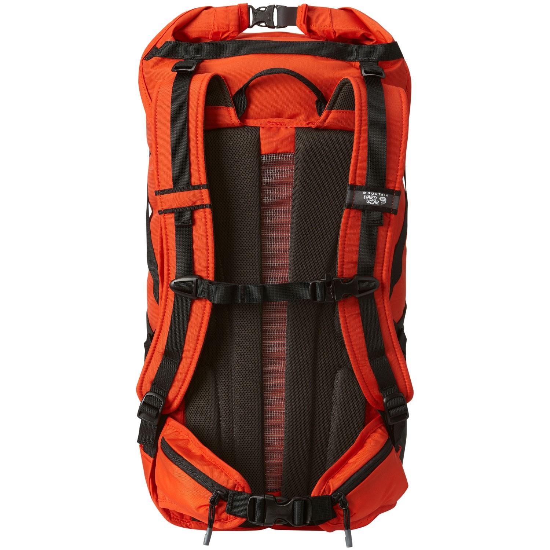 Mountain Hardwear Scrambler RT35 OutDry Rucksack - State Orange - Back System
