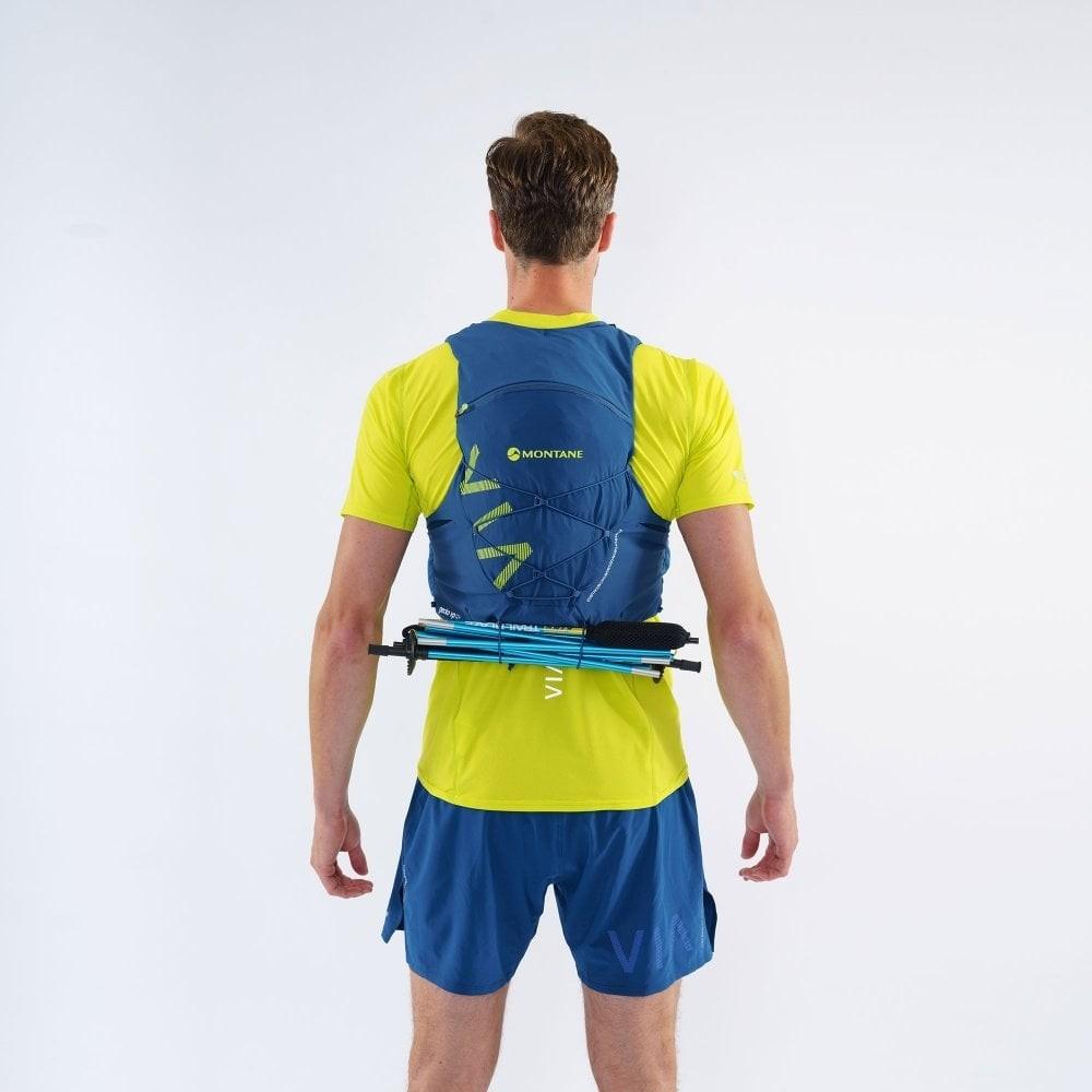 Montane Gecko VP 12+ Running Pack - Narwhal Blue