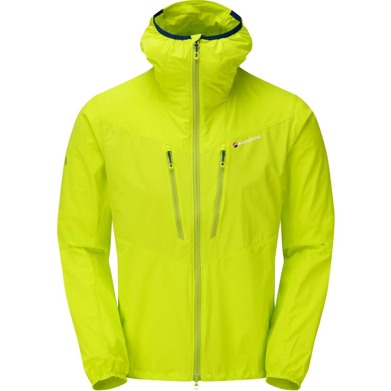 Montane Alpine Edge Jacket - Men's Softshell - Citrus Green