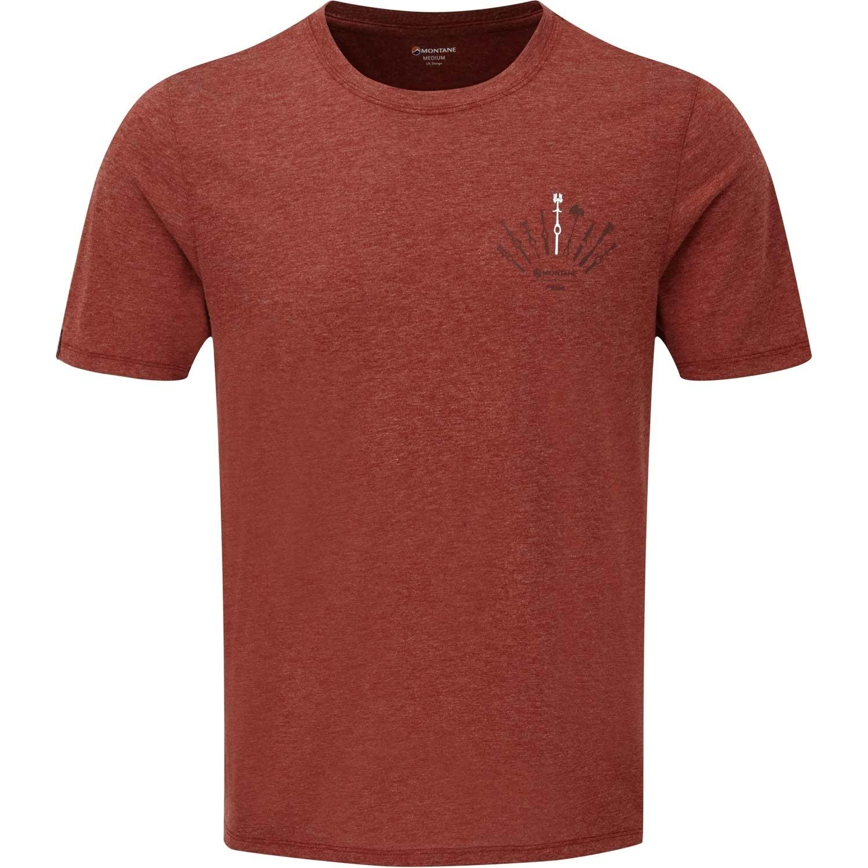 Montane Trad T-Shirt - Men's - Redwood
