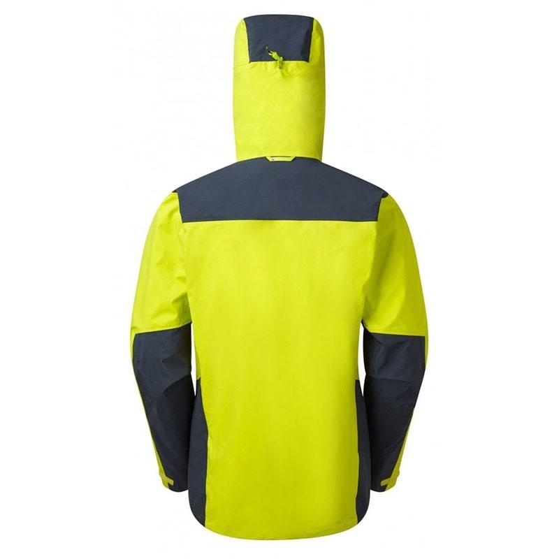 Montane Alpine Resolve Waterproof Jacket - Men's - Citrus Green/Astro Blue