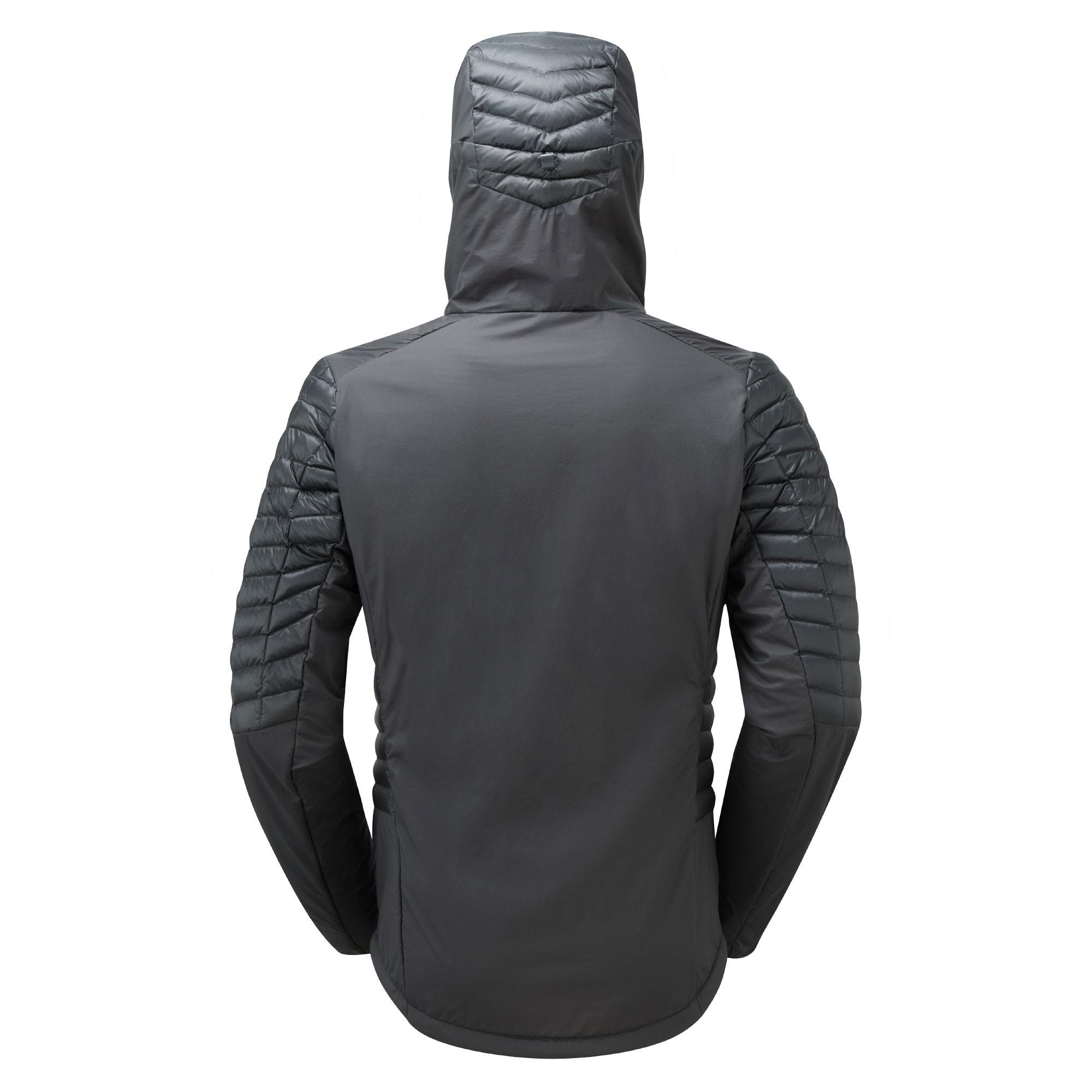 Montane Mens Quattro Fusion Jkt - Shadow - Back Hood Up
