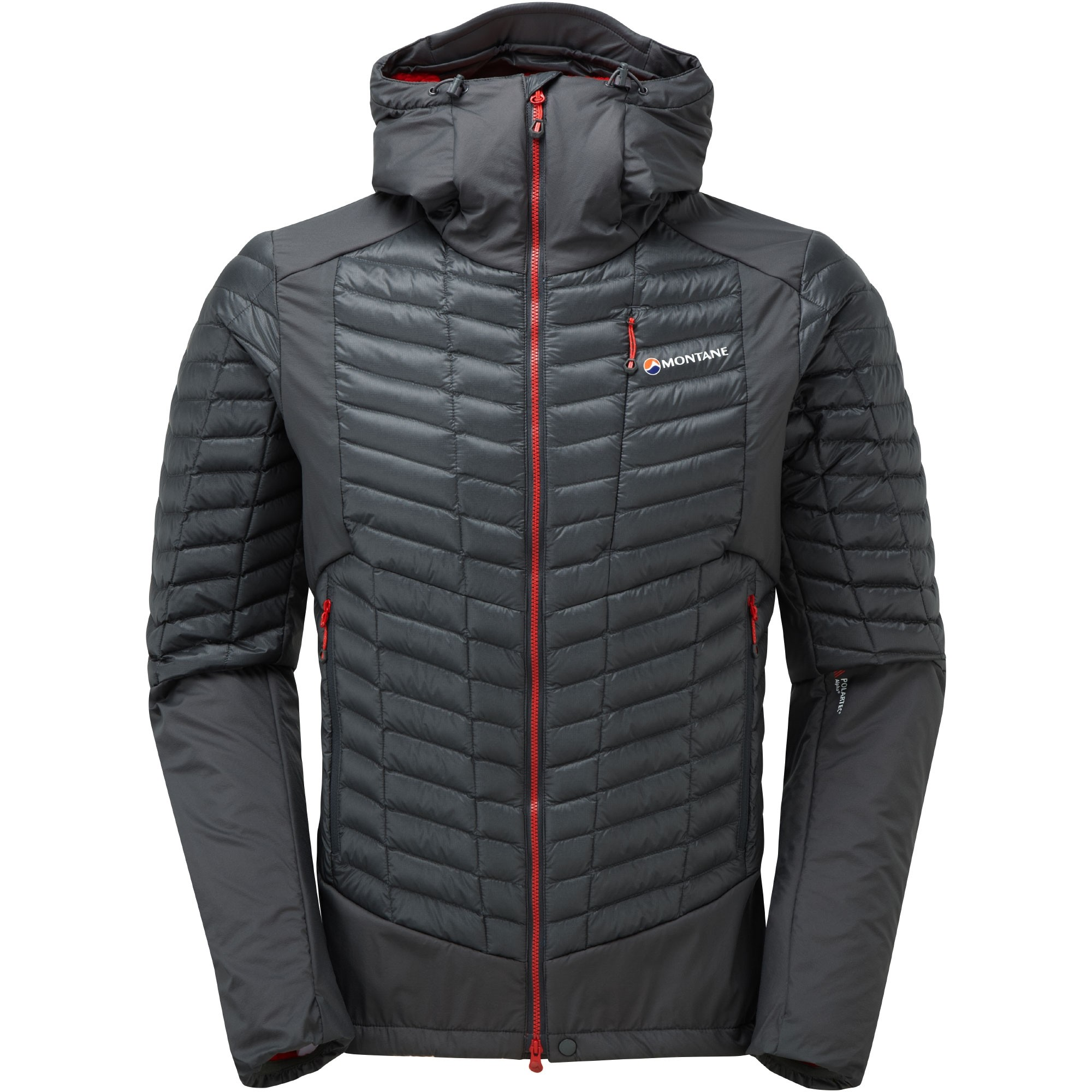 Montane Mens Quattro Fusion Jkt - Shadow - Front