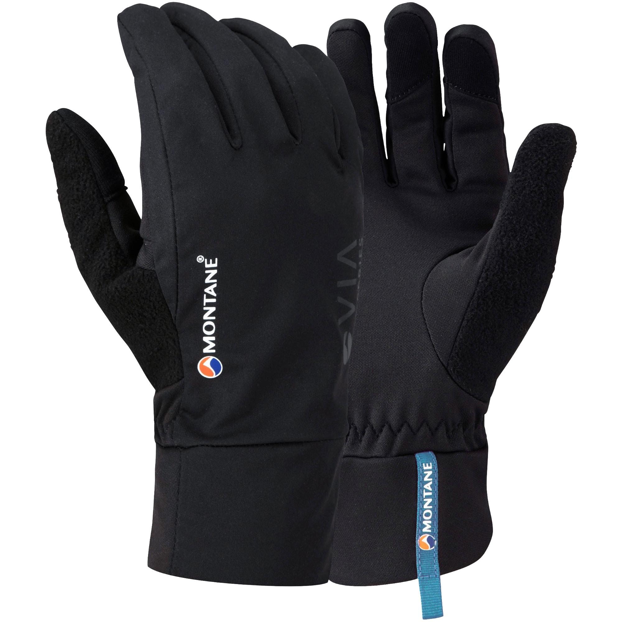 Montane Via Trail Men's Running Gloves - Black