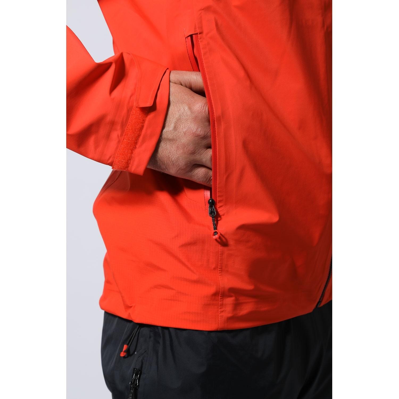 Montane Fleet Jacket - Firefly Orange/Black