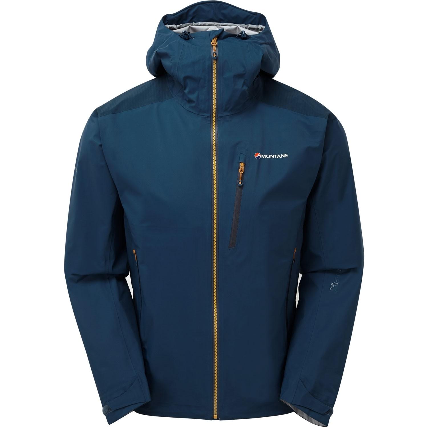 Montane Fleet Jacket - Narwhal Blue/Inca Gold