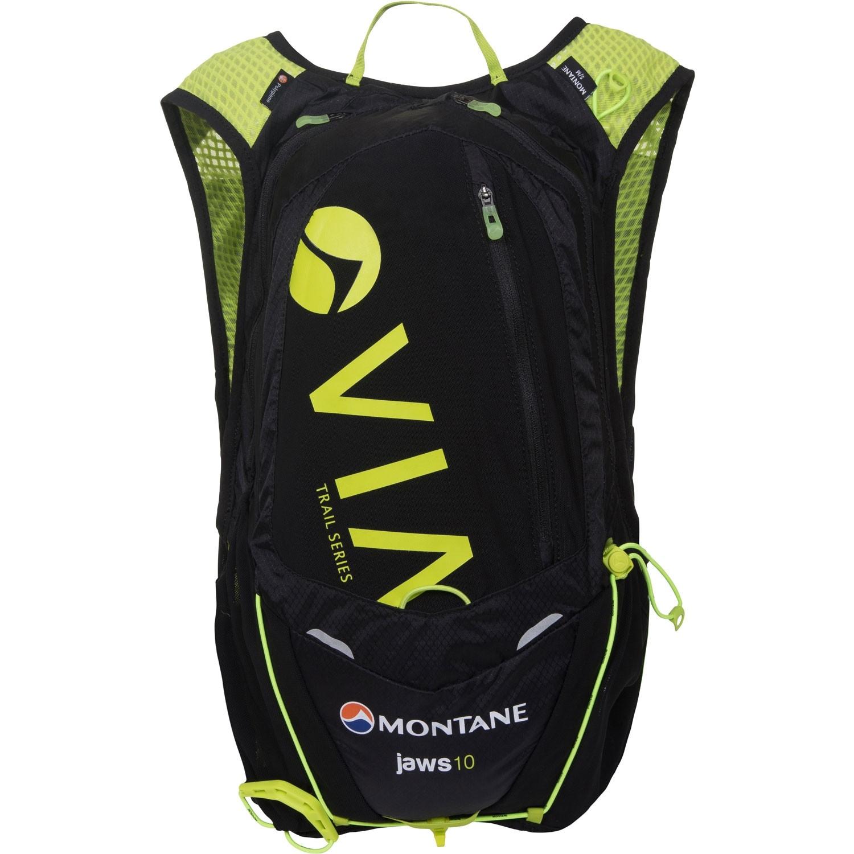 Montane Via Razor 15 Trail Running Speedpack - Black/Laser Gre
